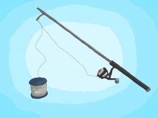 o A good way to spool the line is to take a soft cotton cloth and hold the line in the cloth at about the first eye. Apply a good amount of tension, so the line does not spool loose, and you can real as fast as you like.