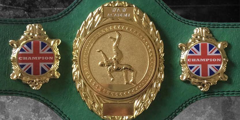 WAW Academy Tag Team Championship Belt