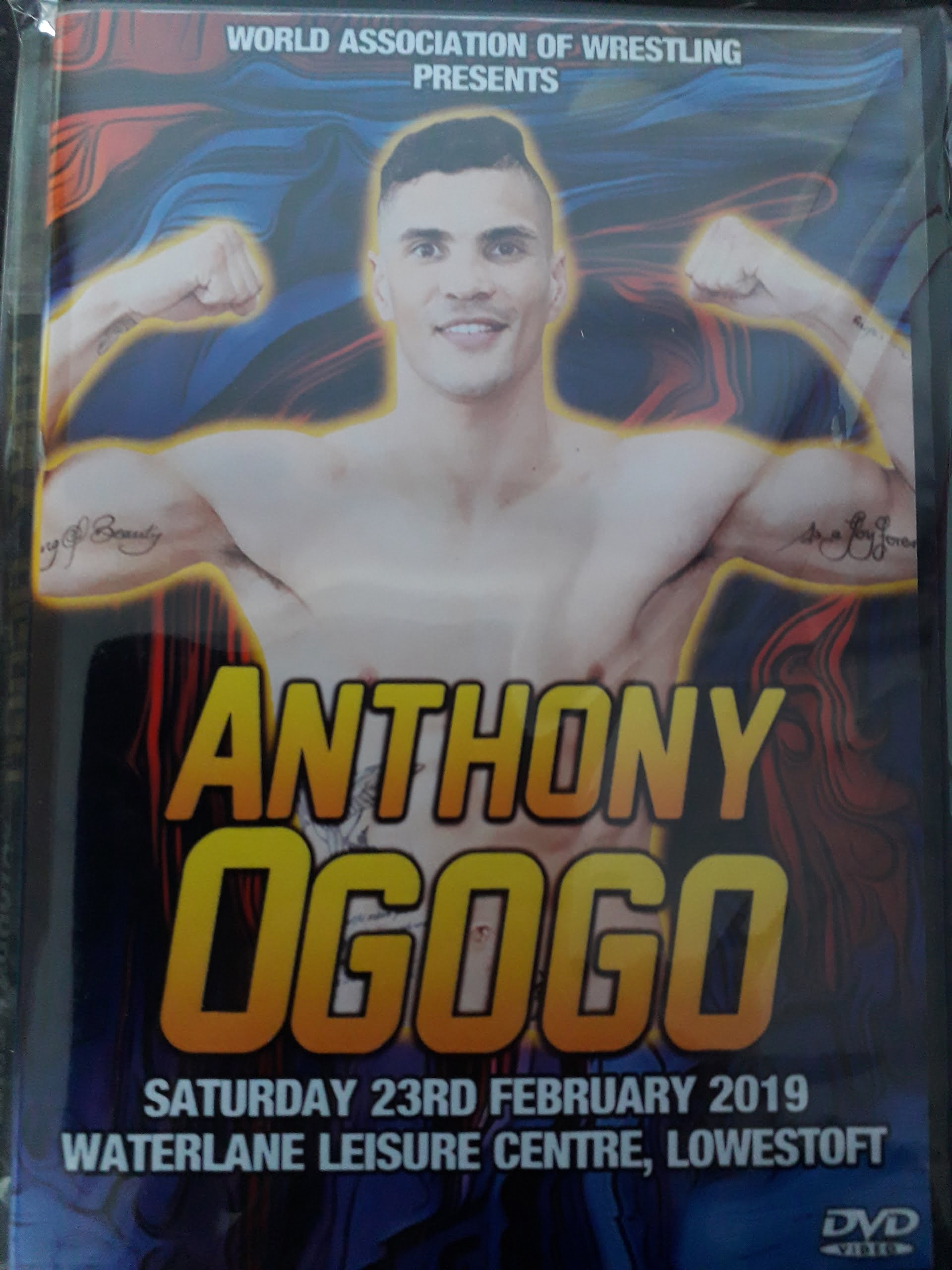 Anthony Ogogo DVD Cover