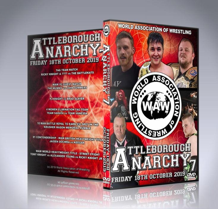 Attleborough Anarchy 7 DVD