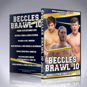 WAW Beccles Brawl 10 DVD