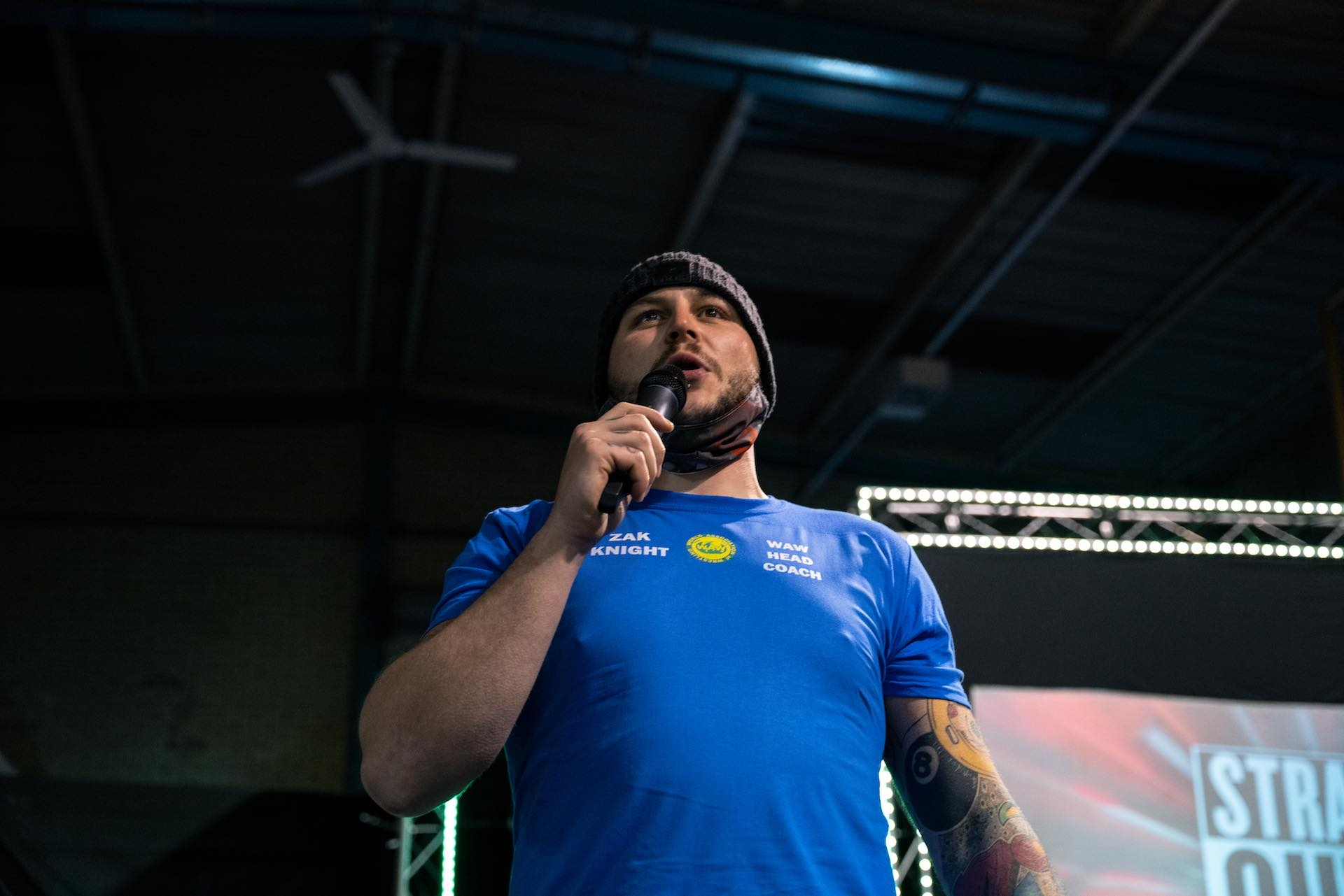 Zak Knight announces WAW Academy Blue Squad