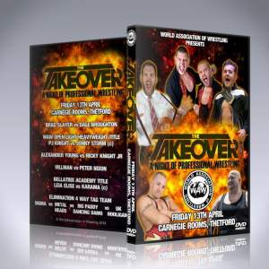 WAW The Takeover DVD