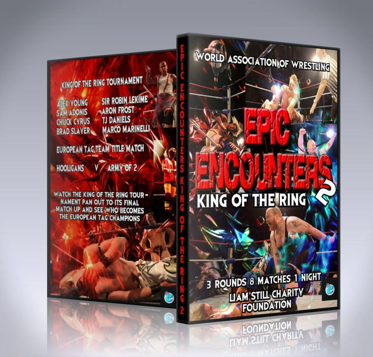 WAW Epic Encounters 2: King of the Ring DVD