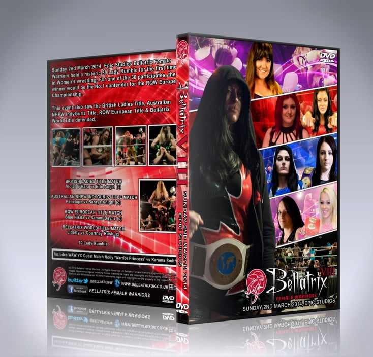 Bellatrix 8 DVD Cover