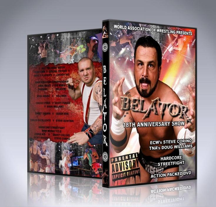 Bellator DVD Cover