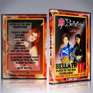 Bellatrix IX: Queen of the Ring 2014 DVD Cover