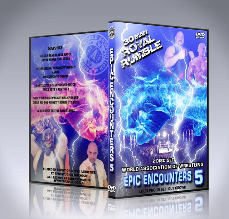 WAW Epic Encounters 5 DVD Cover