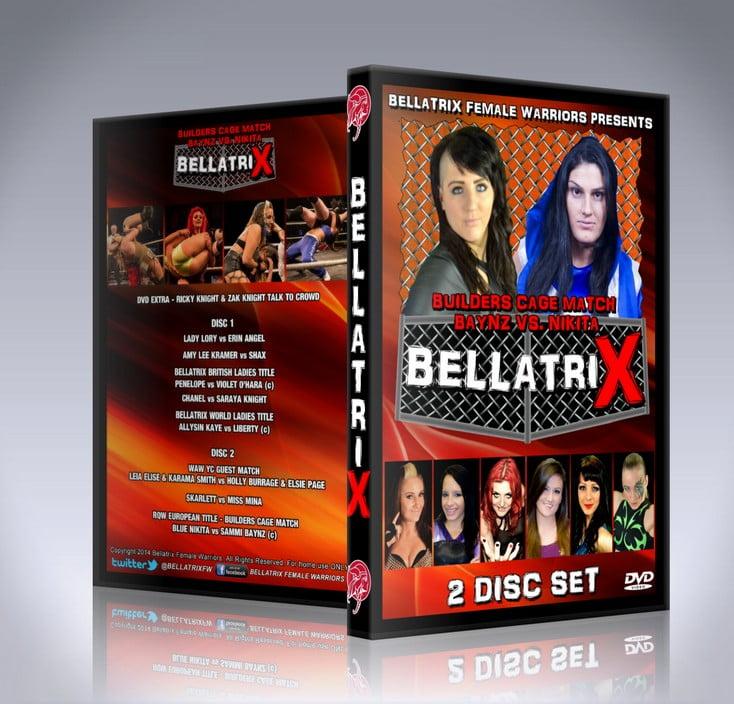 Bellatrix X DVD Cover