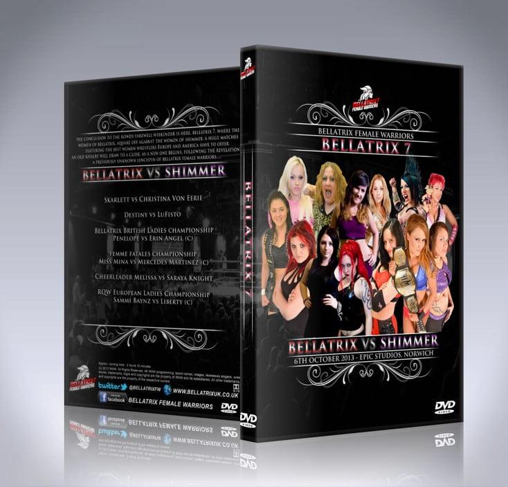 Bellatrix 7: Bellatrix vs SHIMMER DVD Cover