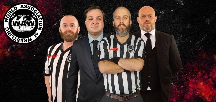 Karl Smith, Martin Wakenell, Rob Butler & Ben Williment