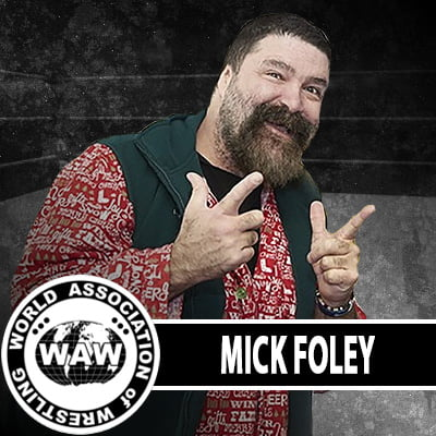 Mick Foley WAW Roster Photo