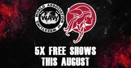 5 FREE Wrestling Shows in Norwich This August