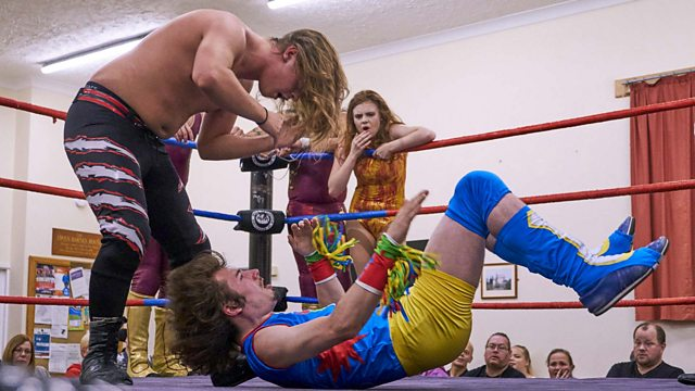 Step Into The Ring Wrestling Action Shot