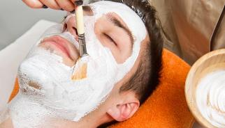 men's facial services neaby