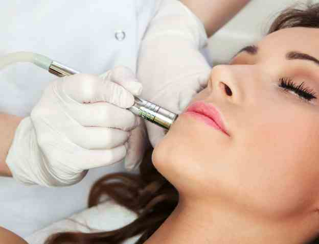 women getting a microdermabrasion in california