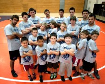 trojan wrestling camp group 1