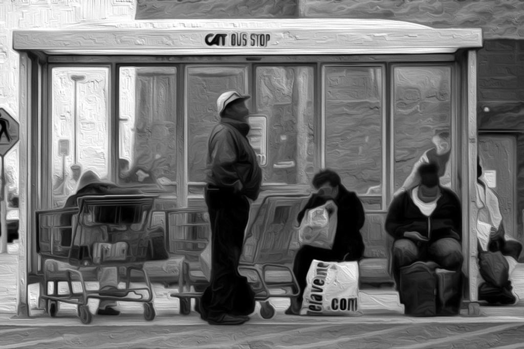 bus stop 46