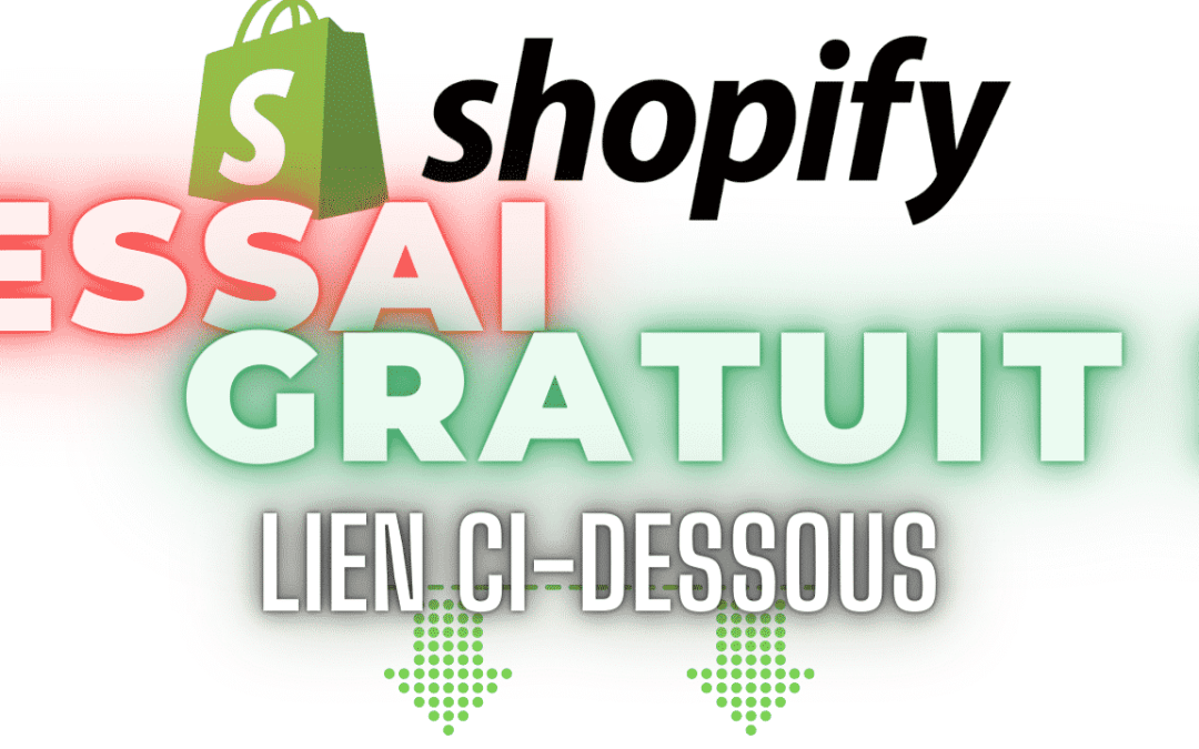 Shopify est 100% en Français! 90 jours d'essai gratuit ! Dropshipping encore plus simple!