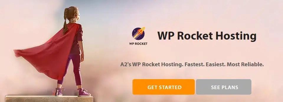 A2Hosting Intègre de base WP ROCKET !! Un hébergeur WordPress Hyper Rapide !