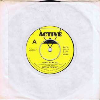 Brenda Prescott – I Want To Be You - ACT 8 - 7-inch Vinyl Record
