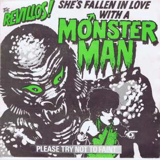 The Revillos – She's Fallen In Love With A Monster Man - 7-inch Vinyl Record