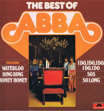 Abba - The Best Of ABBA - 2459 301 - LP Vinyl Record