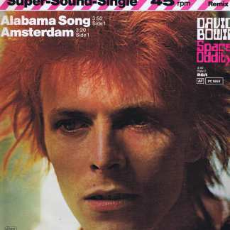 David Bowie ‎– Alabama Song / Amsterdam / Space Oddity - 12-inch