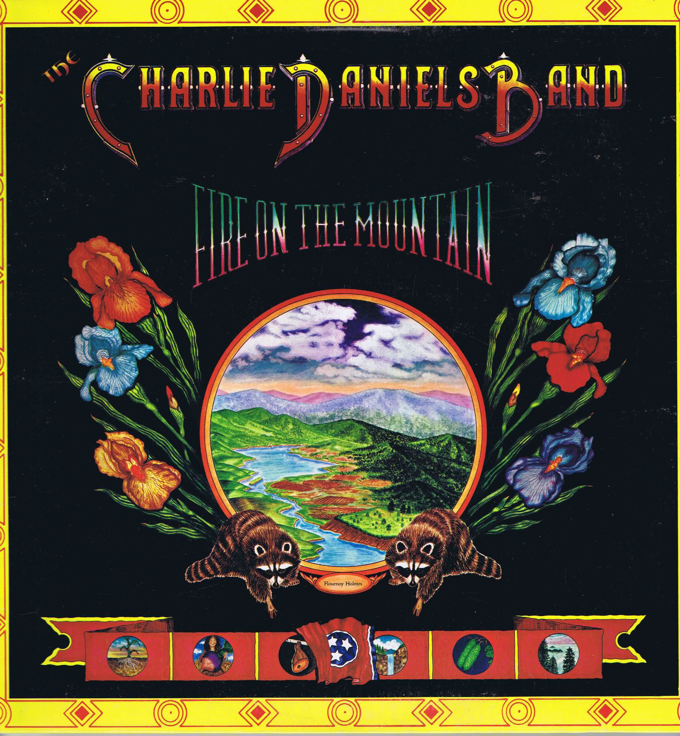 Charlie Daniels Band Fire On The Mountain US Press LP