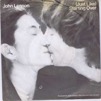 John Lennon - (Just Like) Starting Over - K 79186 - 7-inch Vinyl Record