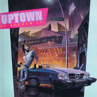 Uptown Is Kickin' It - MCJ 4001 - LP Vinyl Record
