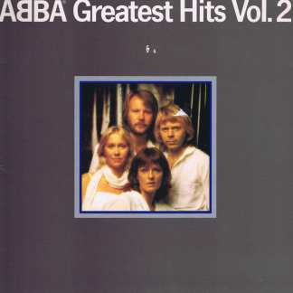 Abba - Greatest Hits Vol. 2 - EPC 10017 - LP Vinyl Record