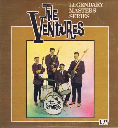 The Ventures – Legendary Masters Series – UAD 60051/2 - 2-LP Vinyl Record