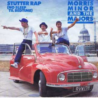 Morris Minor And The Majors – Stutter Rap (No Sleep Til Bedtime) - 7-inch Record