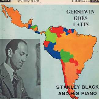 Stanley Black – Gershwin Goes Latin - SKL 4111 - LP Vinyl Record
