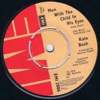 Kate Bush - Man With The Child In His Eyes - EMI 2806 – 7-inch Vinyl Record