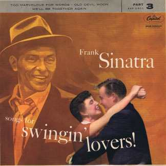 Frank Sinatra – Songs For Swingin' Lovers! (Part 3) - EAP 3-653 - 7-inch Record