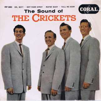 The Crickets – The Sound Of The Crickets - FEP 2003 - 7-inch Vinyl Record