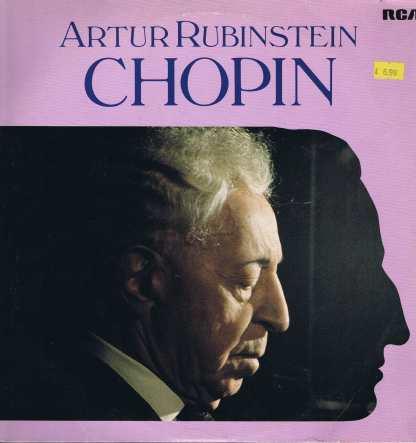 Arthur Rubinstein – Artur Rubinstein - Chopin - 3-LP Vinyl Record
