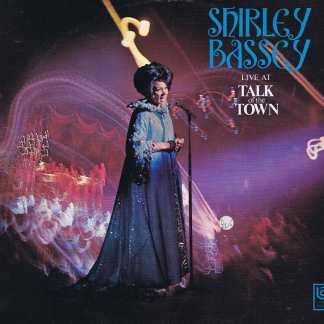 Shirley Bassey – Live At Talk Of The Town - UAS 29095 – LP Vinyl Record