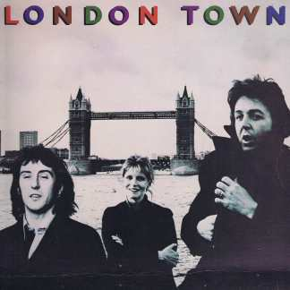 Wings – London Town – PAS 10012 - LP Vinyl Record