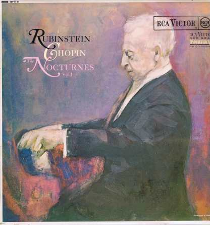 SB-6731 - Chopin / Rubinstein – The Nocturnes Vol. 1 - LP Vinyl Record