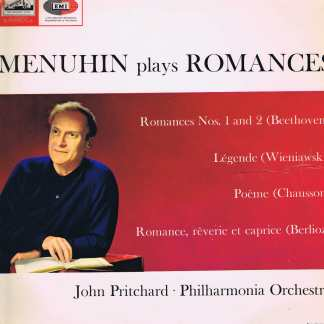 HMV JALP 2070 - Menuhin Plays Romances - South Africa - LP Vinyl Record