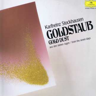 Stockhausen - Goldstaub / Gold Dust - DGG 410 935-1 - LP Record