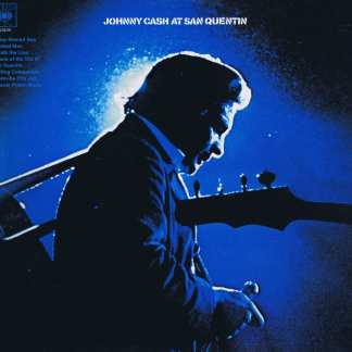 Johnny Cash - At San Quentin - CBS 63629 - LP Vinyl Record