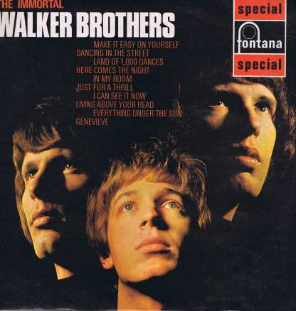 Walker Brothers – The Immortal Walker Brothers – Fontana LP