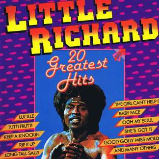 Little Richard - 20 Greatest Hits - BT 555016 – LP #littlerichard