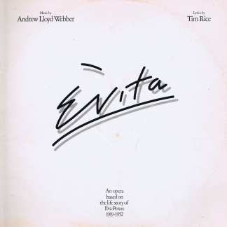 Evita - Andrew Lloyd Webber - Tim Rice – Double LP Vinyl Record