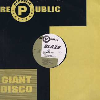 Blaze – Can't Win For Losin' (Overseas Mixes) - 12-inch Vinyl Record