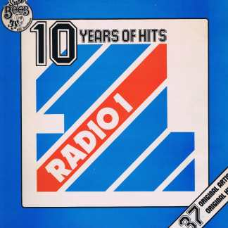 Various Artists - Ten Years Of Hits - Radio 1 - BEDP 002 - 2-LP Vinyl Record